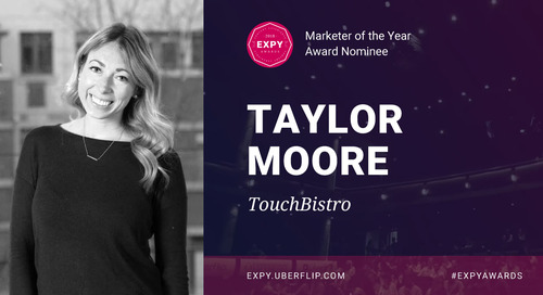 Taylor Moore, Marketer of the Year