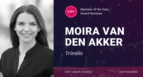Moira van den Akker, Marketer of the Year