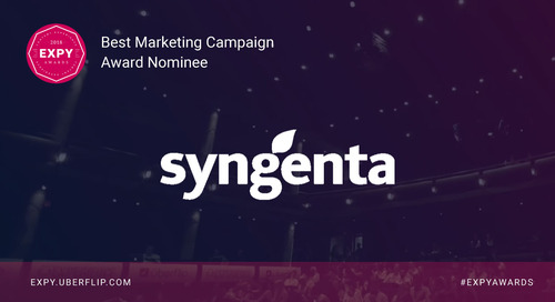 Syngenta, Best Marketing Campaign