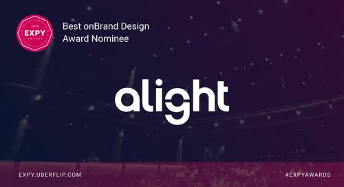 Alight, Best onBrand Design
