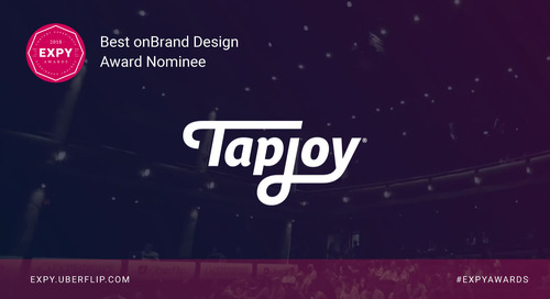 Tapjoy, Best onBrand Design