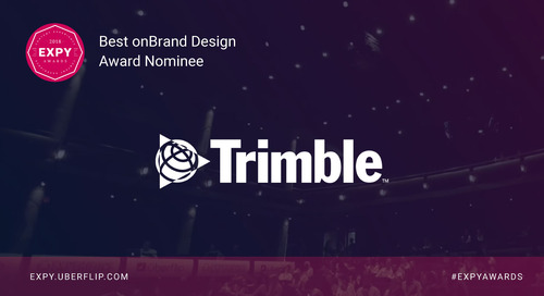 Trimble, Best onBrand Design