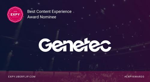 Genetec, Best Content Experience