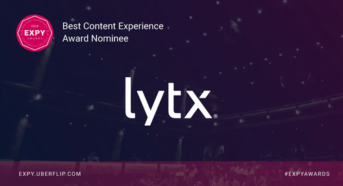 Lytx, Best Content Experience