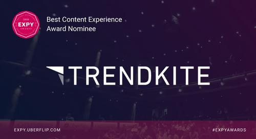 Trendkite, Best Content Experience