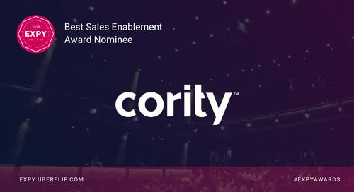 Cority, Best onBrand Design
