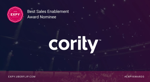 Cority, Best Sales Enablement