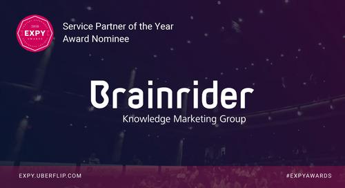Brainrider, Service Partner of the Year