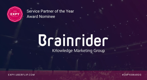 Brainrider, Service Partner of the Year