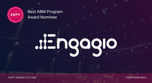 Engagio, Best ABM Program