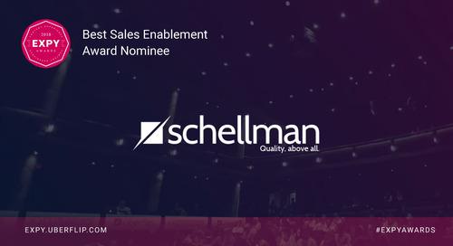 Schellman, Best Sales Enablement Program