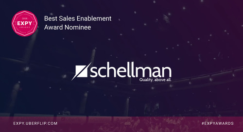 Schellman, Best Sales Enablement Program