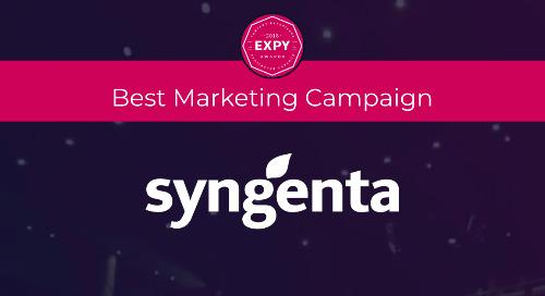 Syngenta, Best Marketing Campaign