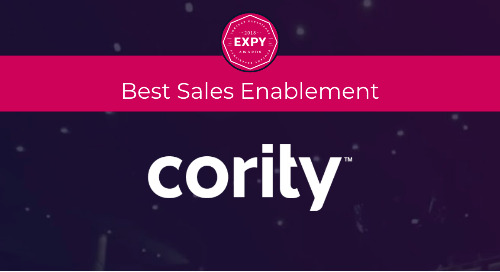 Cority, Best Sales Enablement Program