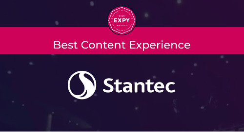 Stantec, Best Content Experience