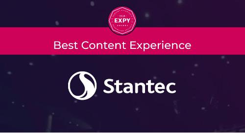 Stantec, Best Content Experience