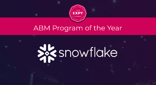 Snowflake, Best ABM Program