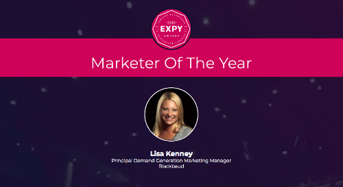 Lisa Kenney, Marketer of the Year