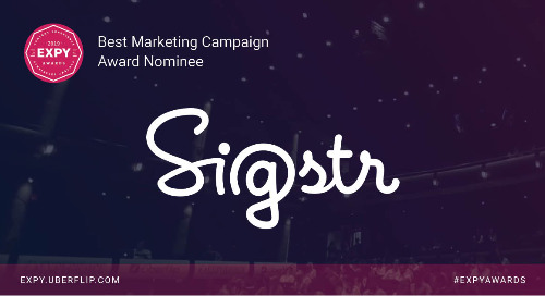 Sigstr, Best Marketing Campaign