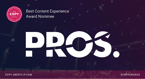 PROS Inc., Best Content Experience