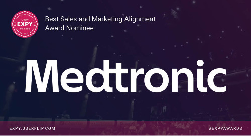 Medtronic, Best Sales and Marketing Alignment