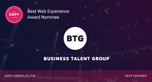 Business Talent Group, Best Web Experience
