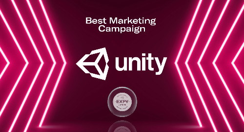 Unity, Best Marketing Campaign