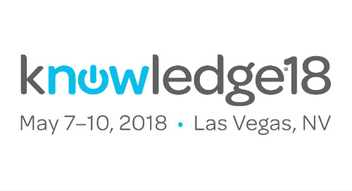 Building a Connected ServiceNow Business, Live at Knowledge18