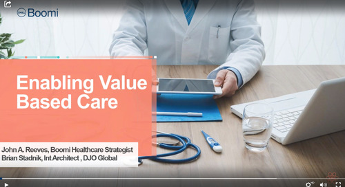 Recorded Webinar | Enabling Value Based Care With Boomi