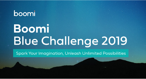 Now Open: The Boomi Blue Challenge 2019 Awards for Customers and Partners!