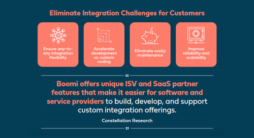 Why Software Vendors Should Partner With a Cloud Integration Provider [Infographic]
