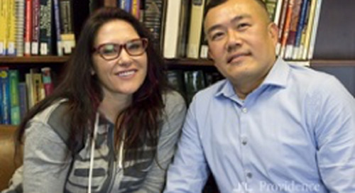 Cat Zingano, UFC fighter, discusses how she has coped with her husband's suicide with Clayton Chau, M.D.