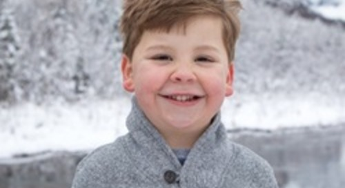 Alaska - She cried 'tears of joy' for her son