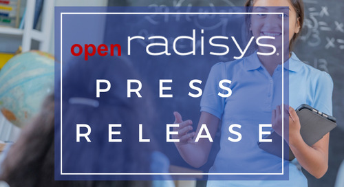 Radisys Names First Commercial Customer Using FlowEngine Intelligent Traffic Distribution System