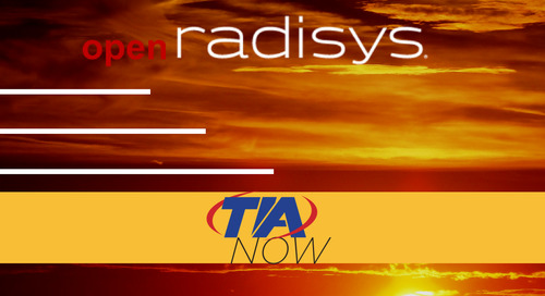 TIA Now - MWC 2017 Interview with Radisys' CEO, Brian Bronson (Video)