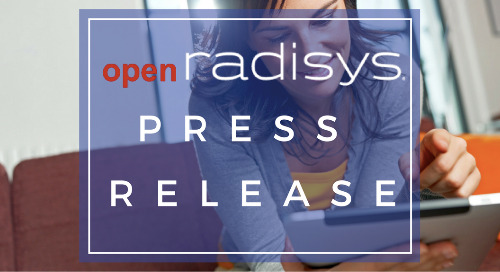 Radisys Announces Open Source LTE Radio Access Network (RAN) Software for the Mobile-CORD (M-CORD) Project