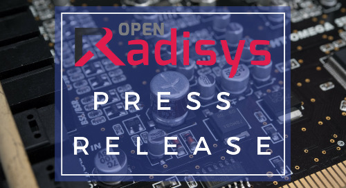 Radisys Delivers Integration of Industry Leading Virtual MRF with ONAP Amsterdam Release