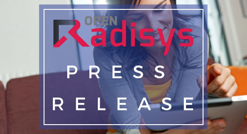 Radisys Enables Industry's First Virtualized RAN Accelerator Solution to Advance 5G Deployment