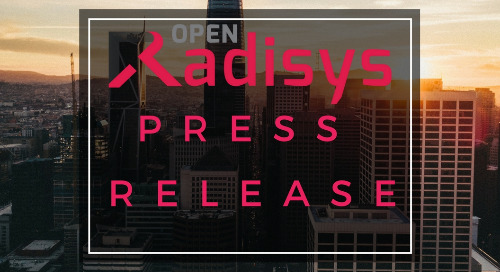 Radisys Unveils Industry's First-To-Market 3GPP R15 Compliant 5G Software Suite