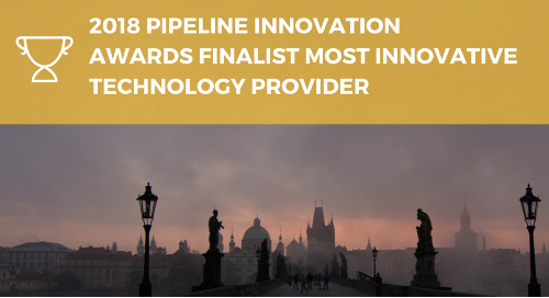 2018 Pipeline Innovation Awards Finalist for Most Innovative Technology Provider
