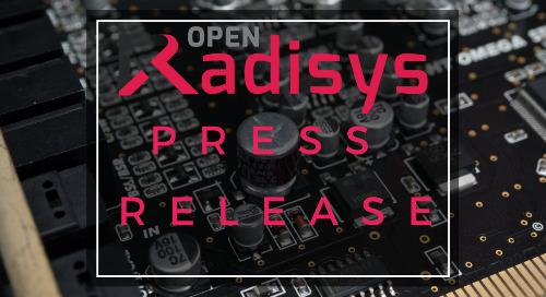 Radisys Maintains #1 Spot in MRF Market