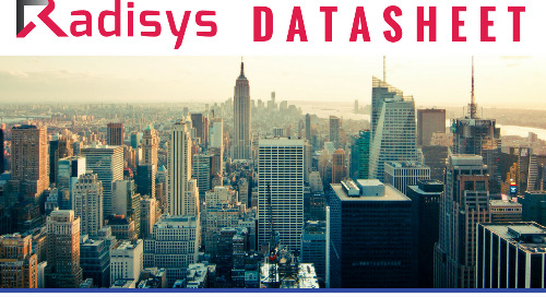 Radisys Connect 5G RAN Software Datasheet