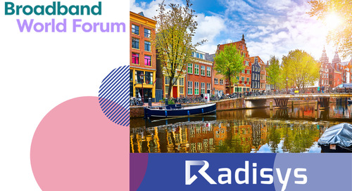Broadband World Forum: October 15-17 Amsterdam, Netherlands