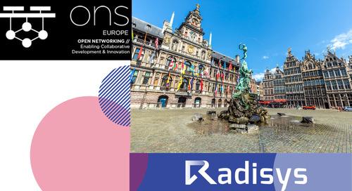 Open Networking Summit Europe 2019: September 23-25 Antwerp, Belgium
