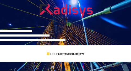 Radisys Delivers its Engage AI-based Media Apps on OpenNESS to Accelerate 4G and 5G Networks Innovation