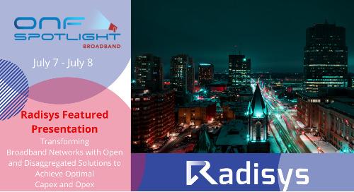 ONF Spotlight - Broadband: Virtual Forum July 7 - 8