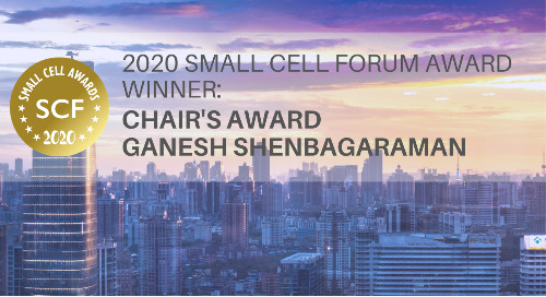 2020 Small Cell Forum Award - Chair's Award Winner