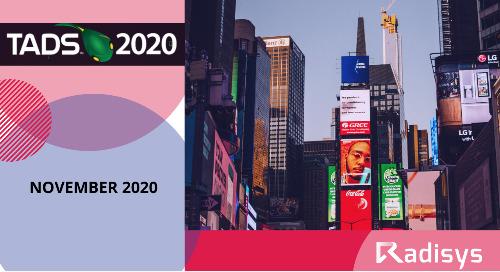 TAD Summit: November 2020
