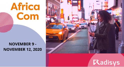 AfricaCom: November 9 - November 12