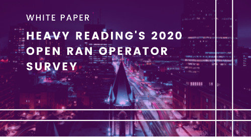 Heavy Reading Open RAN 2020 Operator Survey Report